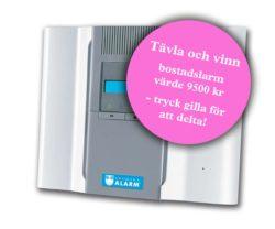 vinn ett bostadslarm från svenska alarm