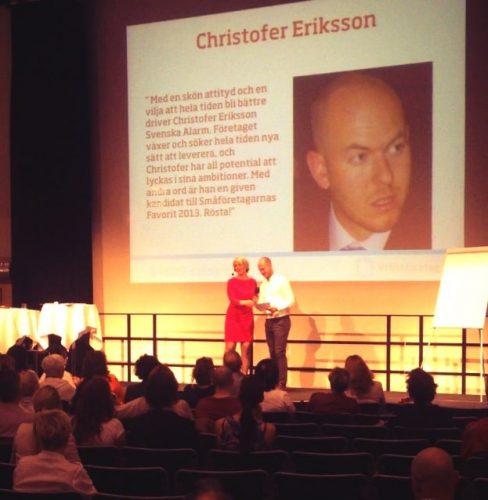 Mitt Företag - Christofer på finalplats i Småföretagarnas favorit
