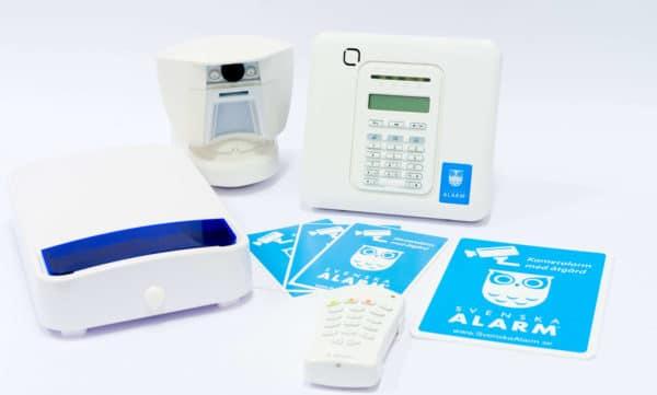 larmutrustning för godkant larm från Svenska Alarm