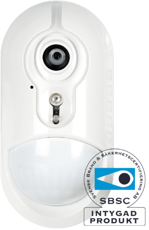 certifierat företagslarm med kamera