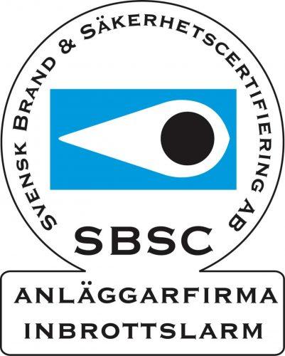 certifiering behörig anläggarfirma svenska alarm