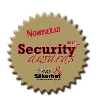 On off app nominerad security award