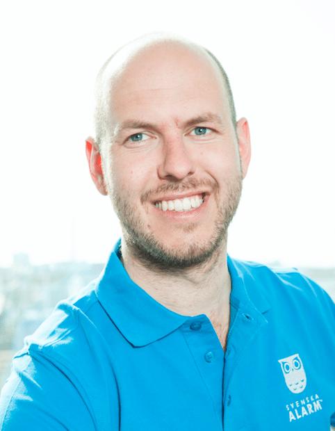 kontaktperson Svenska Alarm Christofer Eriksson