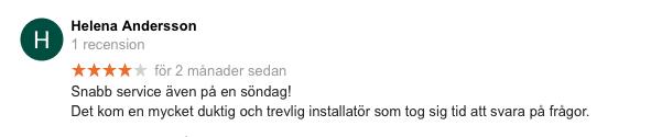 Recension Svenska Alarm