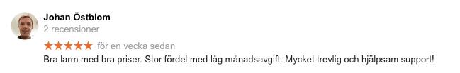 betyg Svenska Alarm