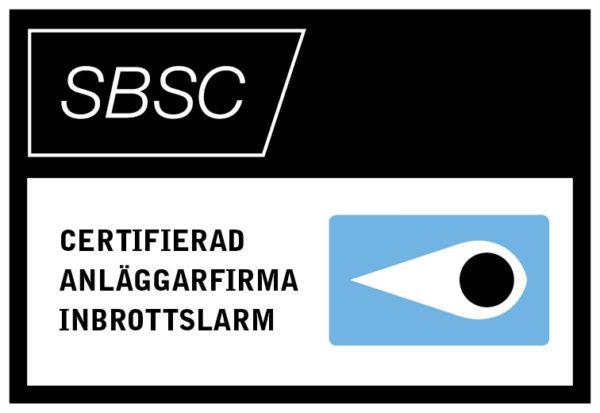 företagslarm och larmsystem certifierade av SBSC