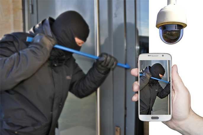 Hemlarm mot inbrottstjuvar