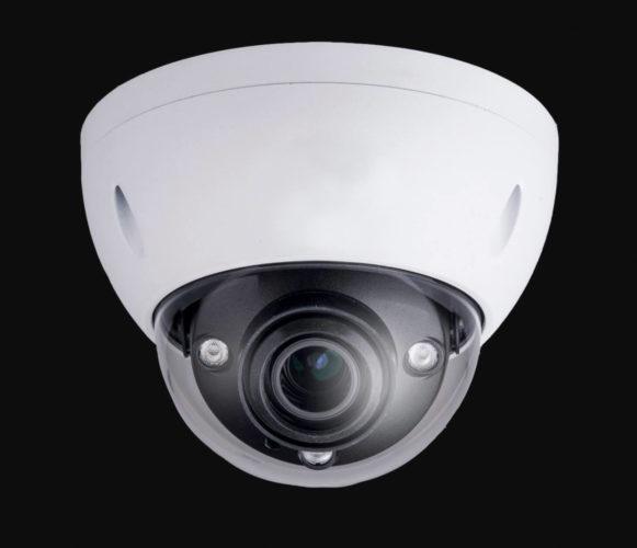 övervakningskamera för bevakning med högupplöst film